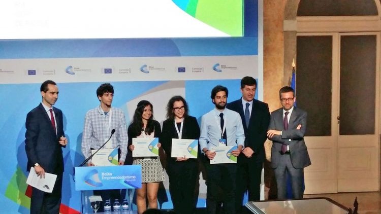 Técnico students win award from the European Commission