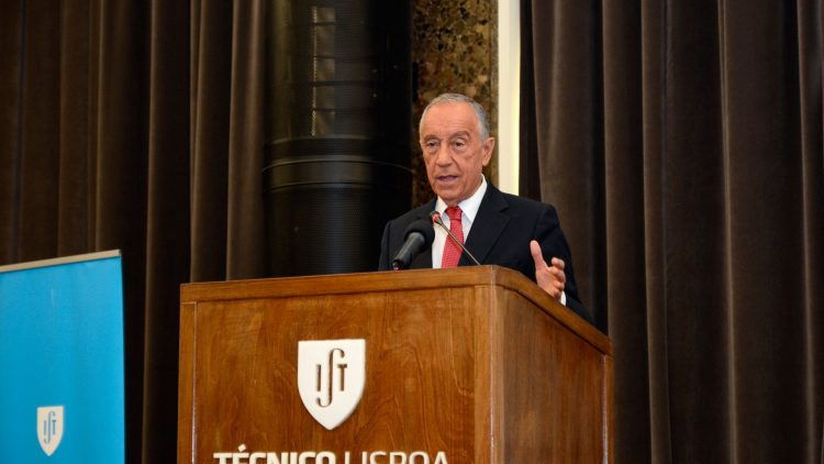 """The President of the Republic thanks Técnico for 105 years at the service of Portugal"""