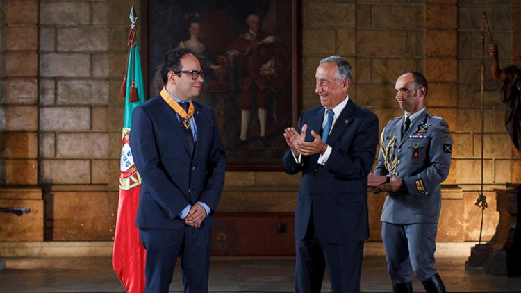Professor Luís Oliveira e Silva honoured by the President of the Portuguese Republic