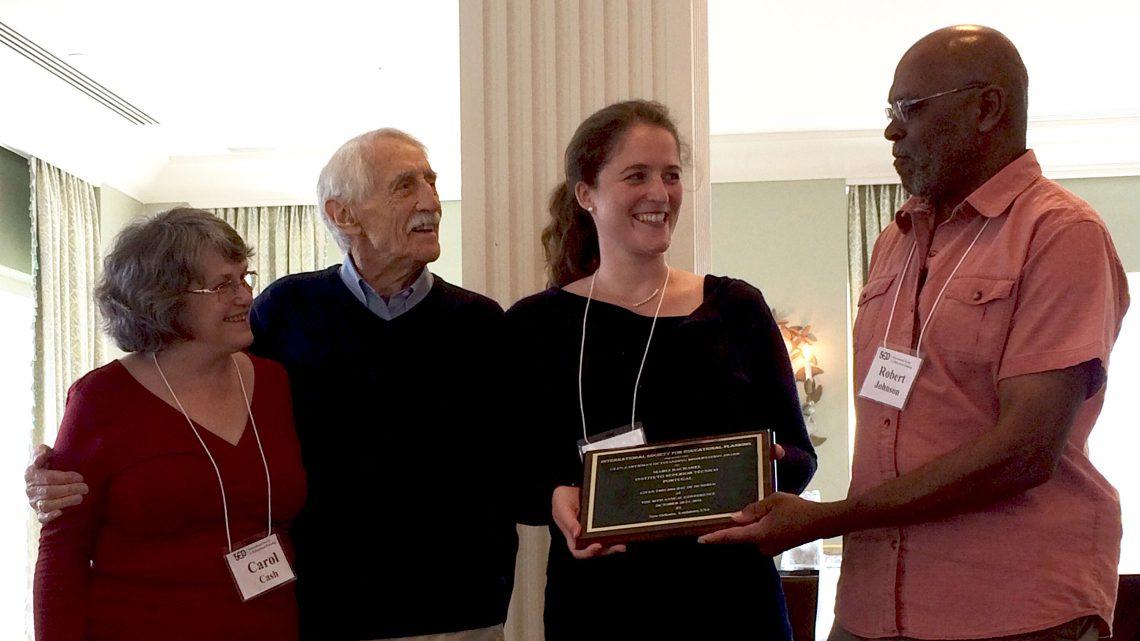Alumna do Técnico vence Glen Earthman Outstanding Dissertation Award