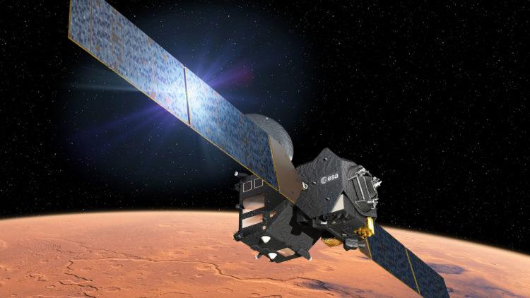 Aterragem da sonda EXOMARS em Marte