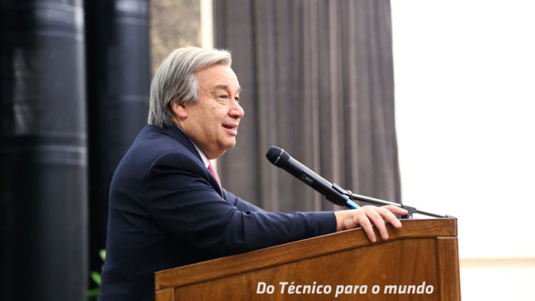 Técnico rejoices over the election of António Guterres as Secretary-General of the UN