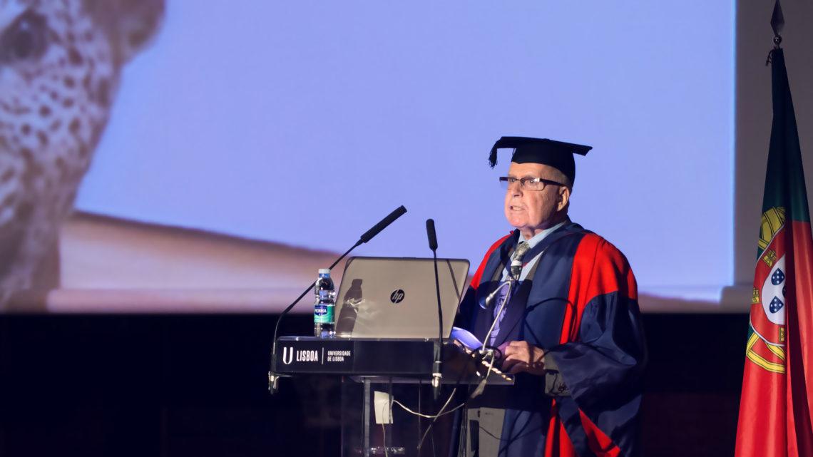 Professor Jorge Calado distinguido na Abertura do Ano Académico da ULisboa