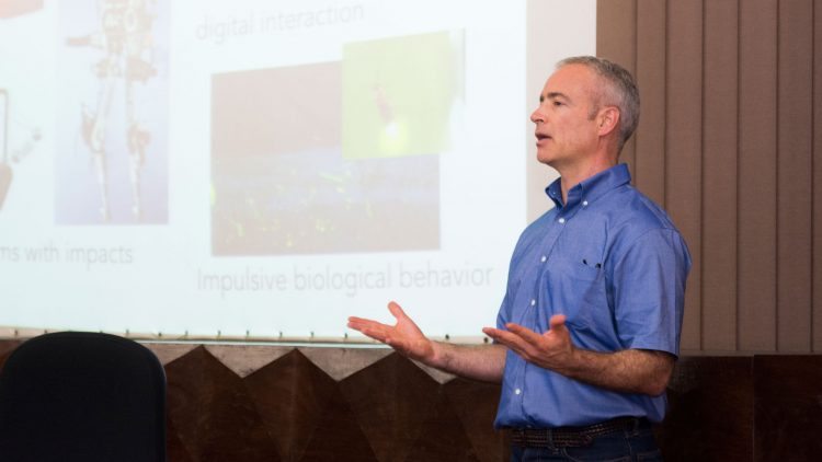 Andrew R. Teel discusses examples of hybrid systems in IST Distinguished Lecture