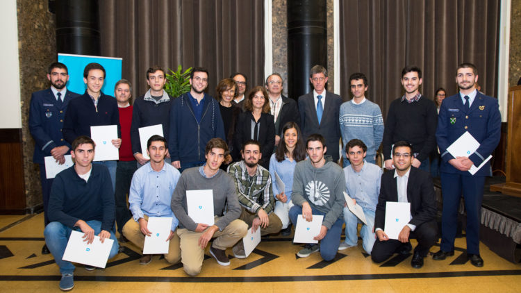 Diploma Award Ceremony for Academic Excellence at Técnico