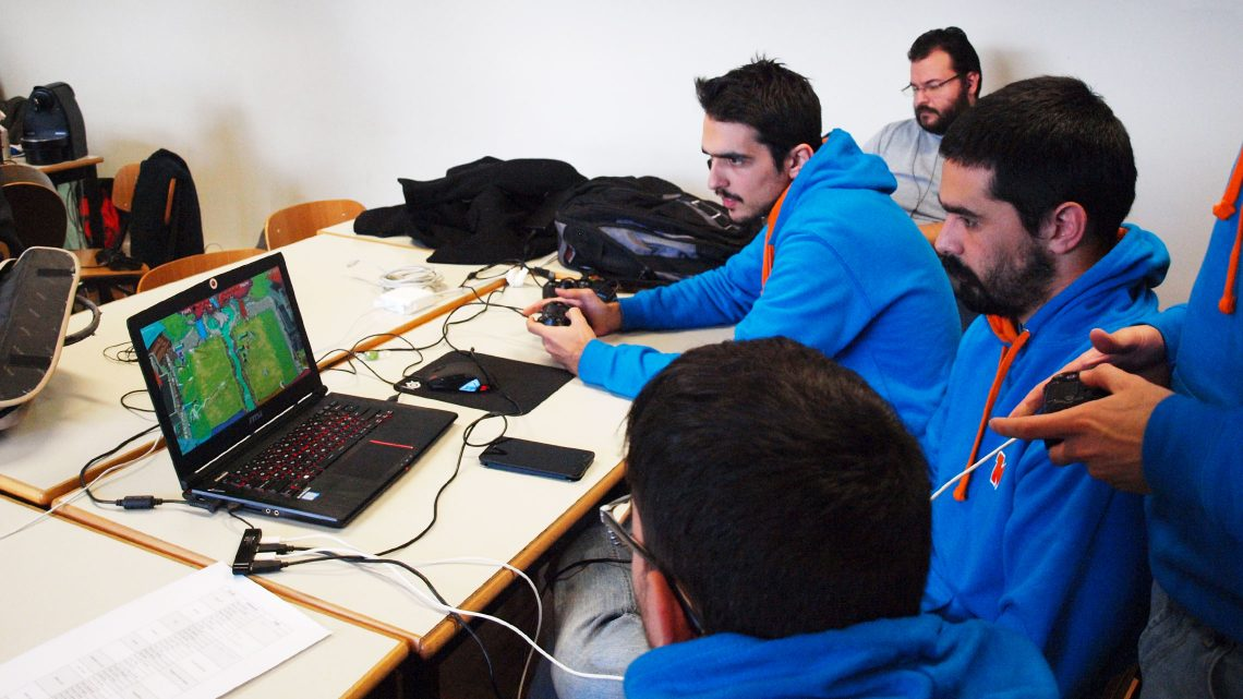 Global Game Jam at Taguspark is a success