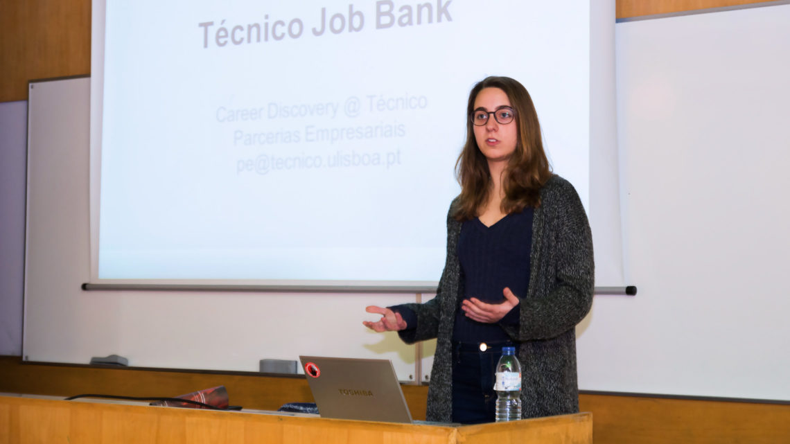 Presentation session of the new Técnico Job Bank