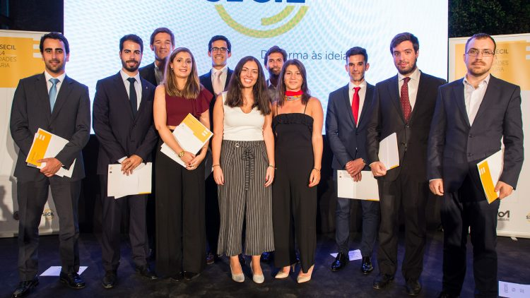 Técnico students collect a large number of Secil Universities Awards