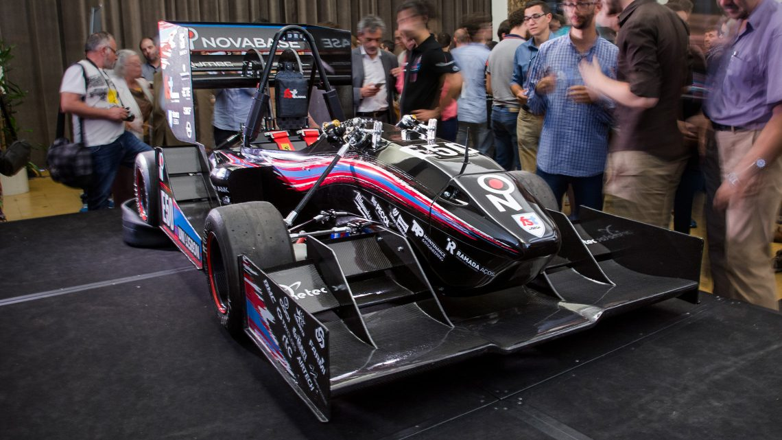 Formula Student team from Técnico presents a new prototype