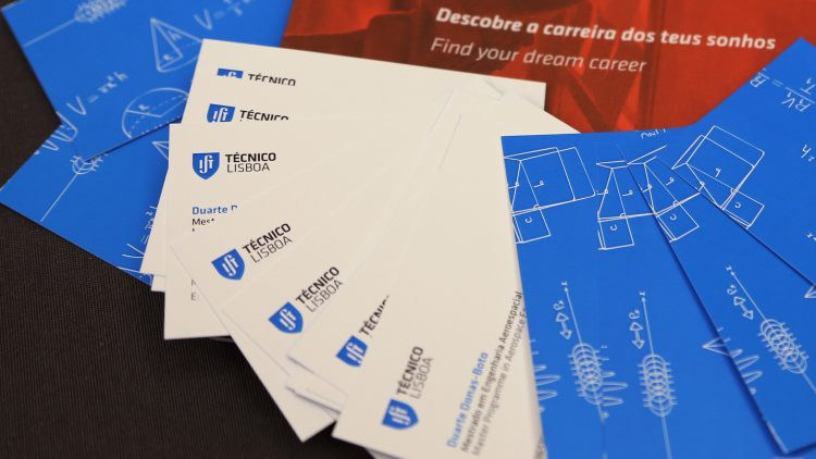 More than 300 finalists already have a Técnico Business Card