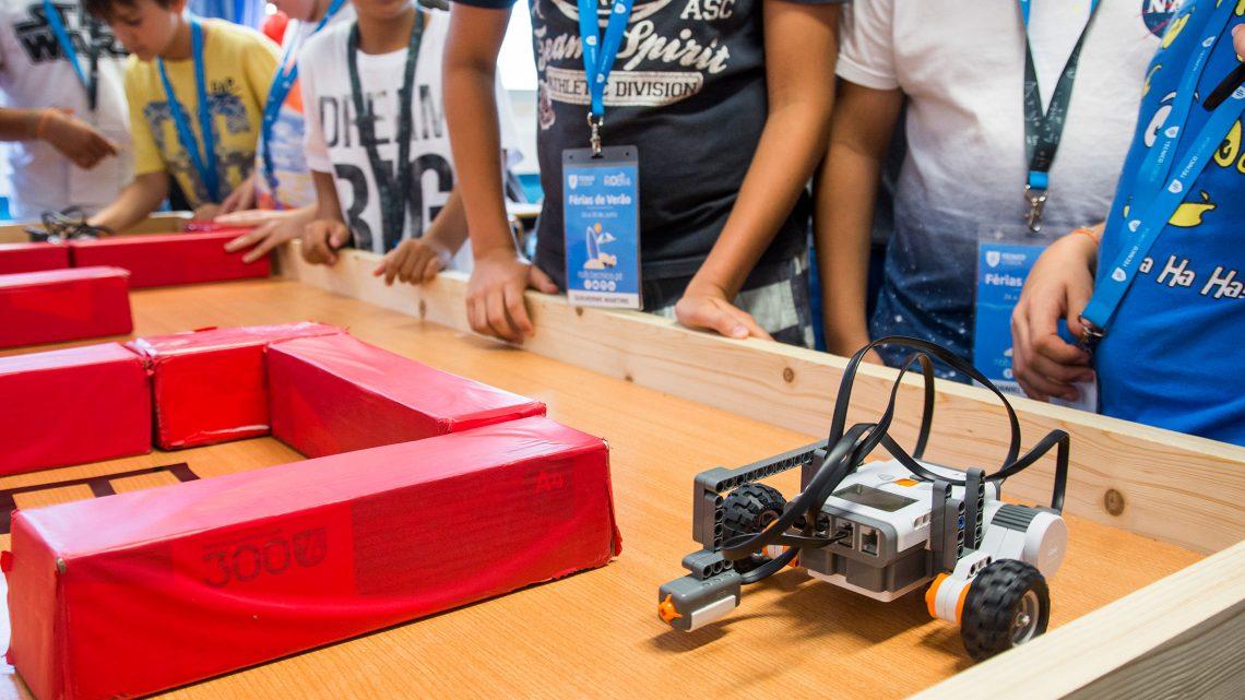 Semana dedicada à Robótica conquista os mais novos
