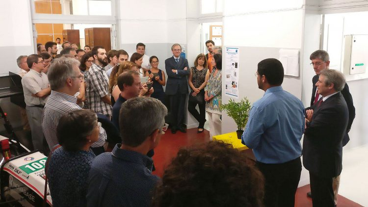 Técnico inaugurates Composite Materials Laboratory