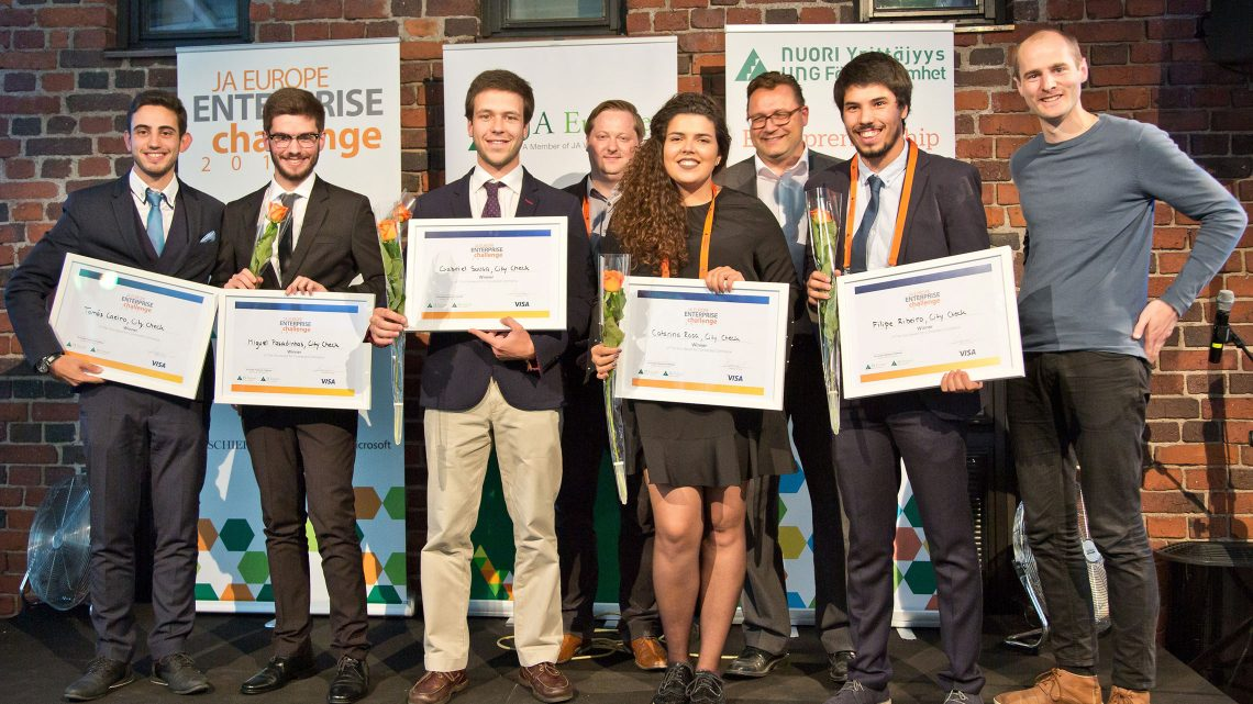 Técnico student is member of winning startup at European Entreprise Challenge
