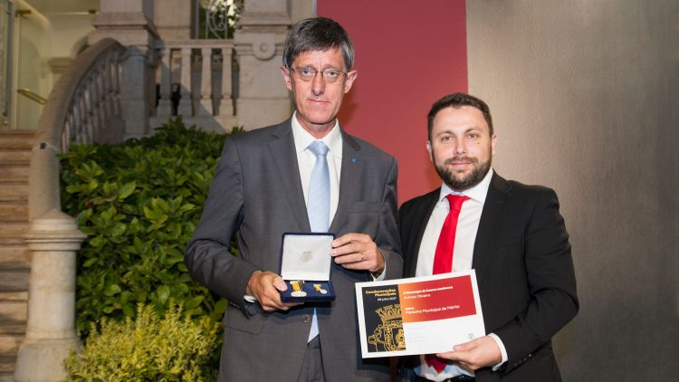 President of Técnico distinguished by Loures City Hall