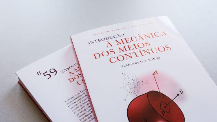 """IST Press edita o livro """"Introdução à Mecânica dos Meios Contínuos"""""""