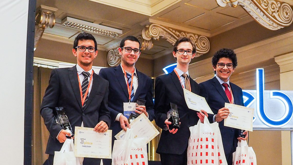 Técnico students win bronze medal at the largest engineering competition in Europe
