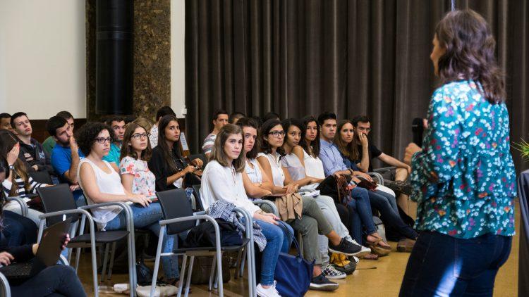 Sessões alertam estudantes para a importância de se prepararem para o processo de recrutamento