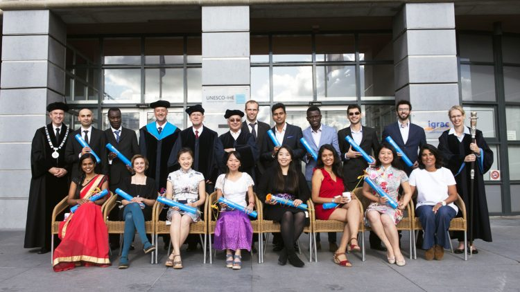 Graduação dos primeiros alunos Erasmus Mundus em Groundwater and Global Change