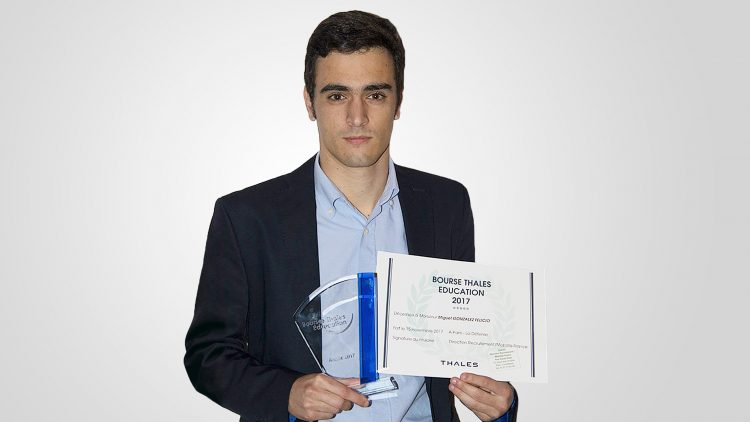 Técnico student among the best trainees at Thales group