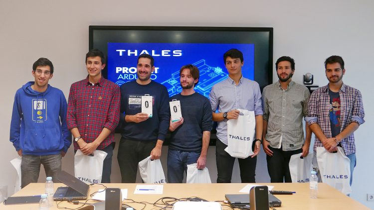 Thales Arduino Competition – Showcase session selects the team that will be representing Portugal in the world competition