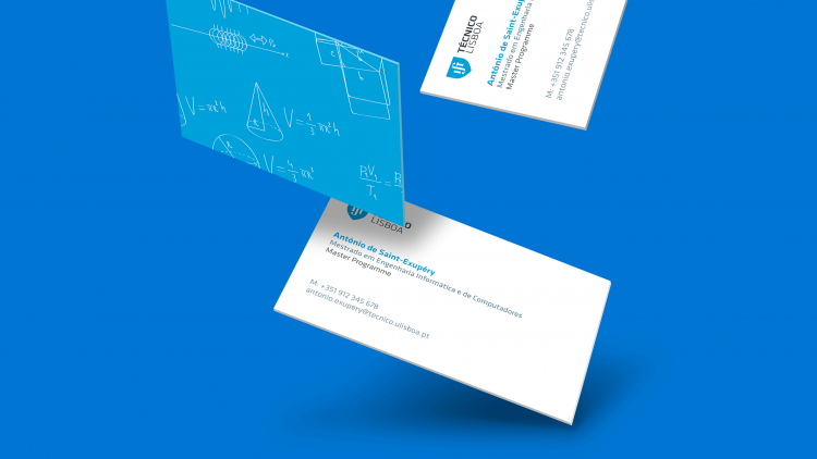 4th edition of Técnico Business Cards