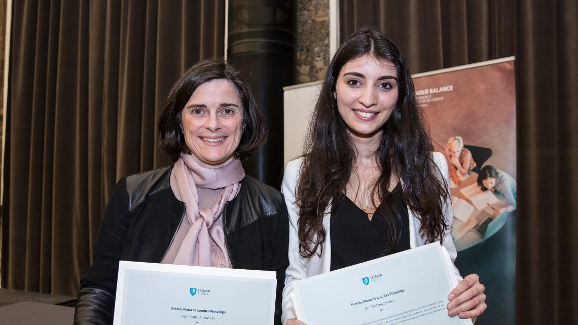 Two outstanding women receive Maria de Lourdes Pintasilgo Award