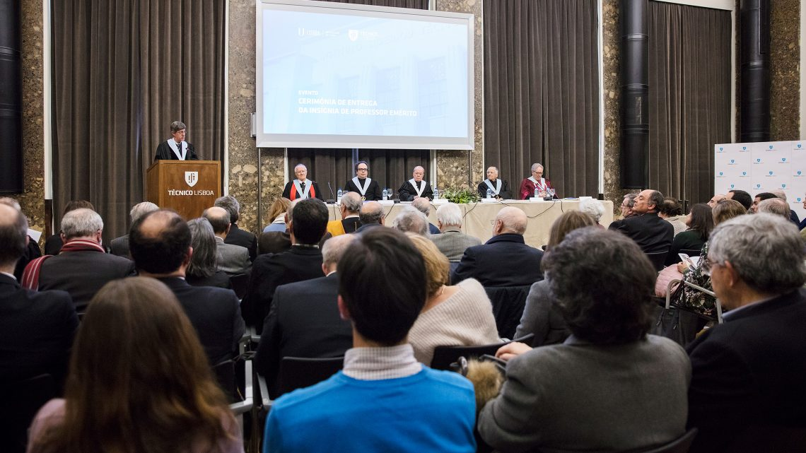 The title of Professor Emeritus of ULisboa has been conferred to three remarkable professors