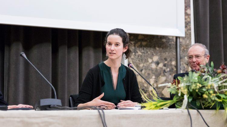 Cristina Fonseca inspires future entrepreneurs during a session held at Técnico