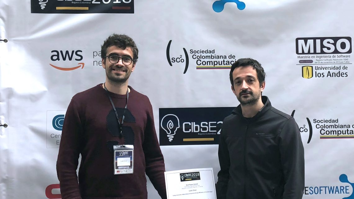 INESC-ID researchers win Best Paper Award on Software Engineering