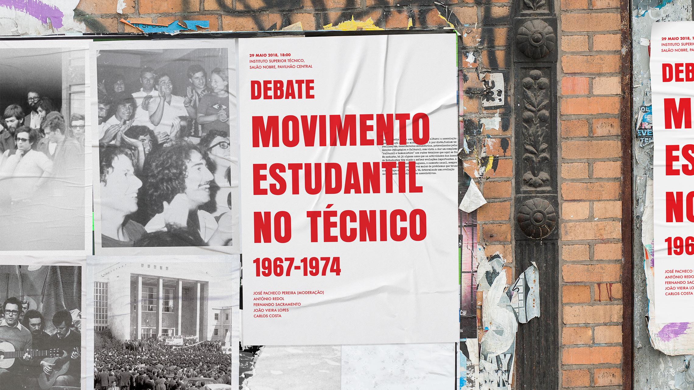 """Debate """"Movimento Estudantil no Técnico (1967-1974)"""""""