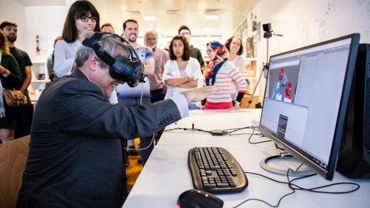 Inaugurado Laboratório de Jogos no Taguspark