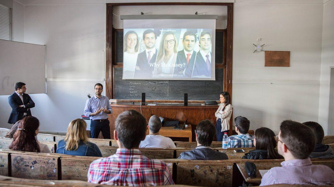 McKinsey apresenta-se a alunos do Técnico