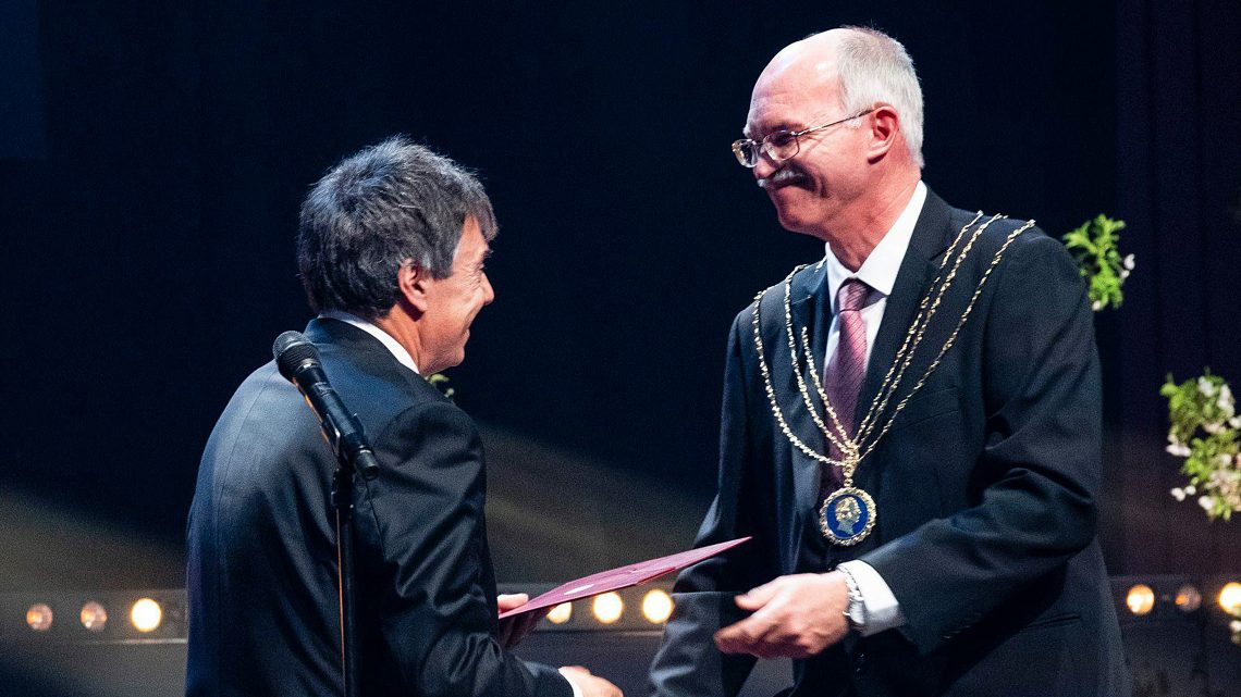 Professor Paulo Martins awarded the title of Doctor Honoris Causa by the Technical University of Denmark