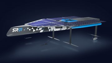 Técnico Solar Boat – Presentation of SR01