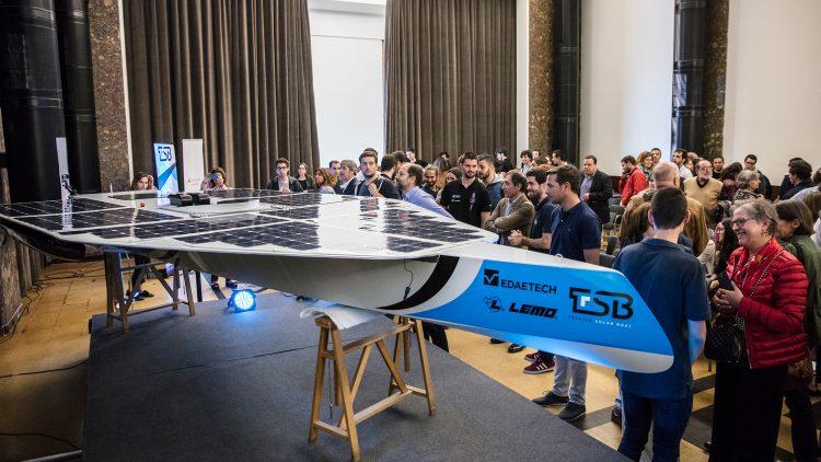 Técnico Solar Boat apresenta SR01