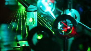 laboratório de lasers