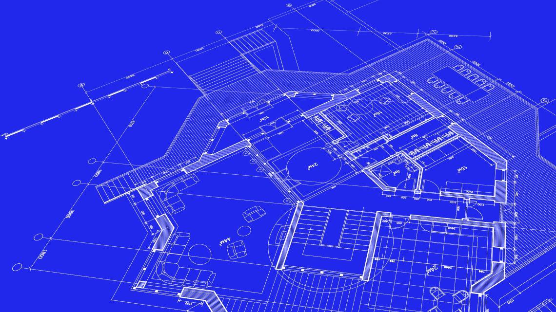 desenho técnico de arquitectura