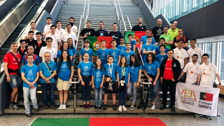 Equipa do ISR integra comitiva nacional do RoboCup 2018