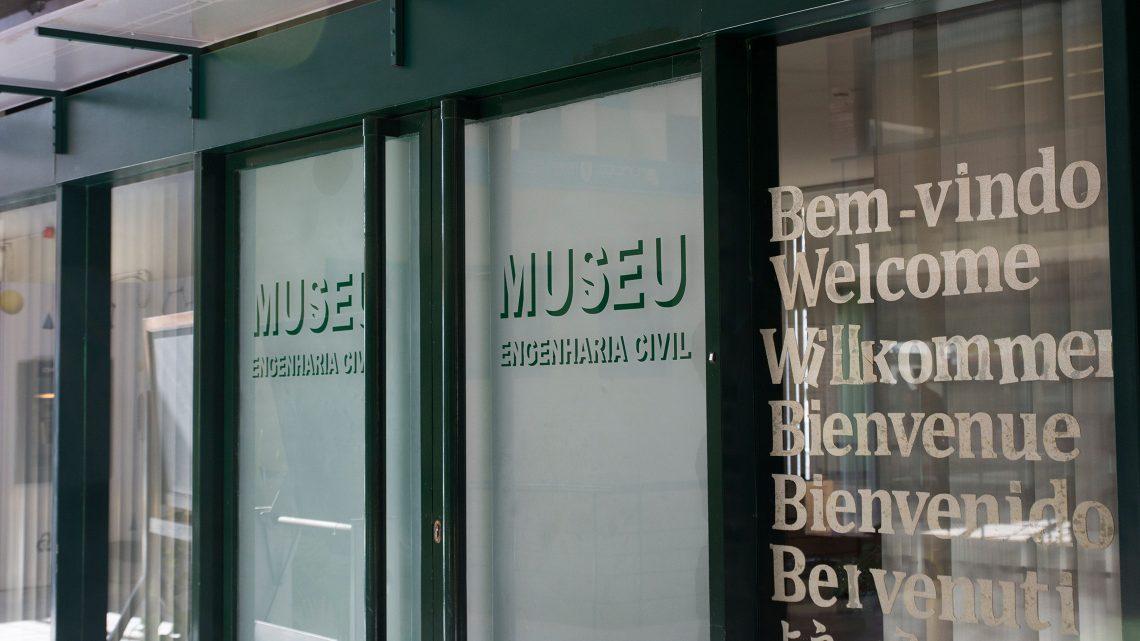 Porta do Museu de Engenharia Civil