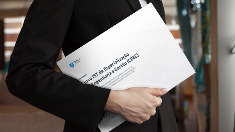 Curso IST de Especialização em Engenharia e Gestão (CEEG) – Entrega de certificados