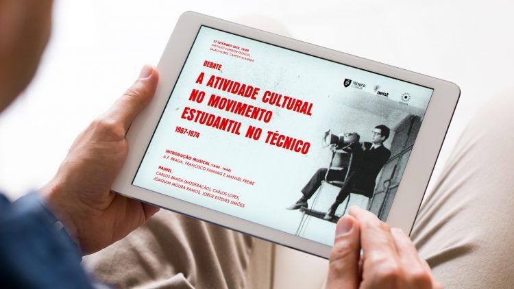 """III Debate """"A atividade cultural no movimento estudantil do Técnico 1967-1974"""""""