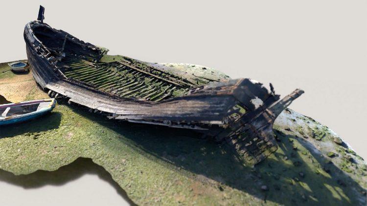 """Palestra """"A embarcação Cravidão: do plano geométrico ao modelo digital"""""""