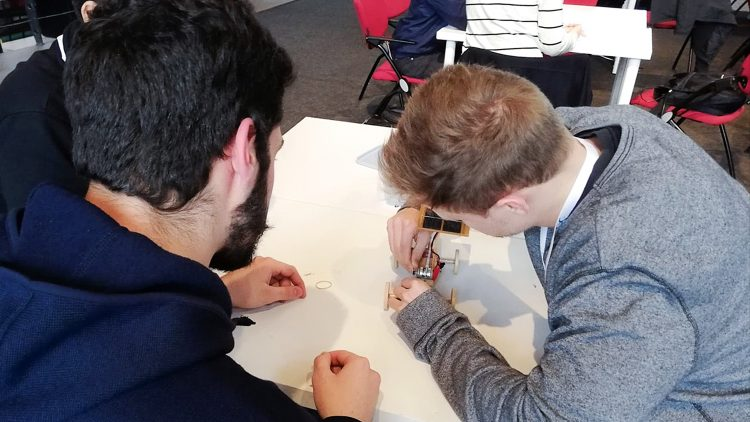 Técnico students show their skills to EDP