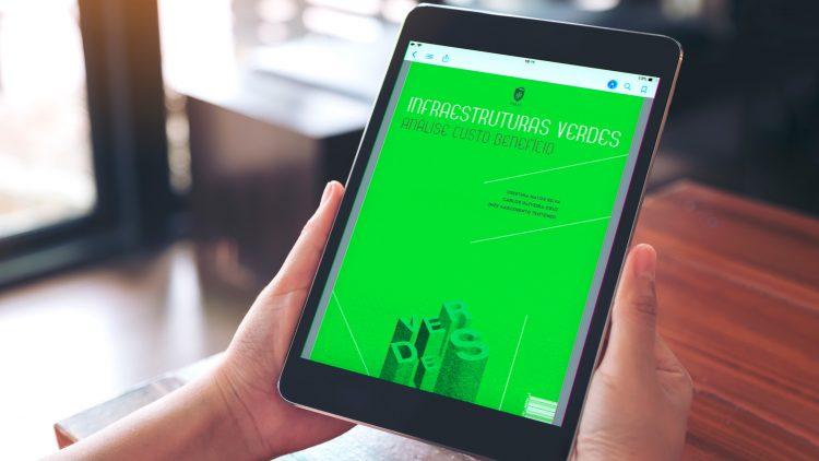 "e-book presentation – ""Infraestruturas Verdes. Análise Custo Benefício"""