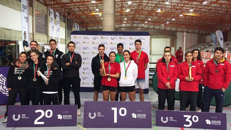 Equipa de Badminton da Universidade de Lisboa sagra-se Tetracampeã Nacional Universitária