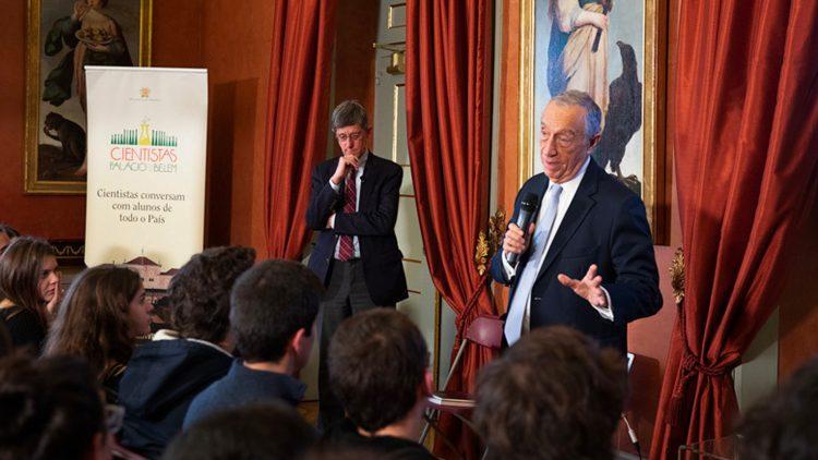 Professor Arlindo Oliveira demystified Artificial Intelligence at Palácio de Belém