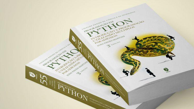 """IST Press reedita o livro """"Programação em Phyton. Introdução à Programação Utilizando Múltiplos Paradigmas"""""""