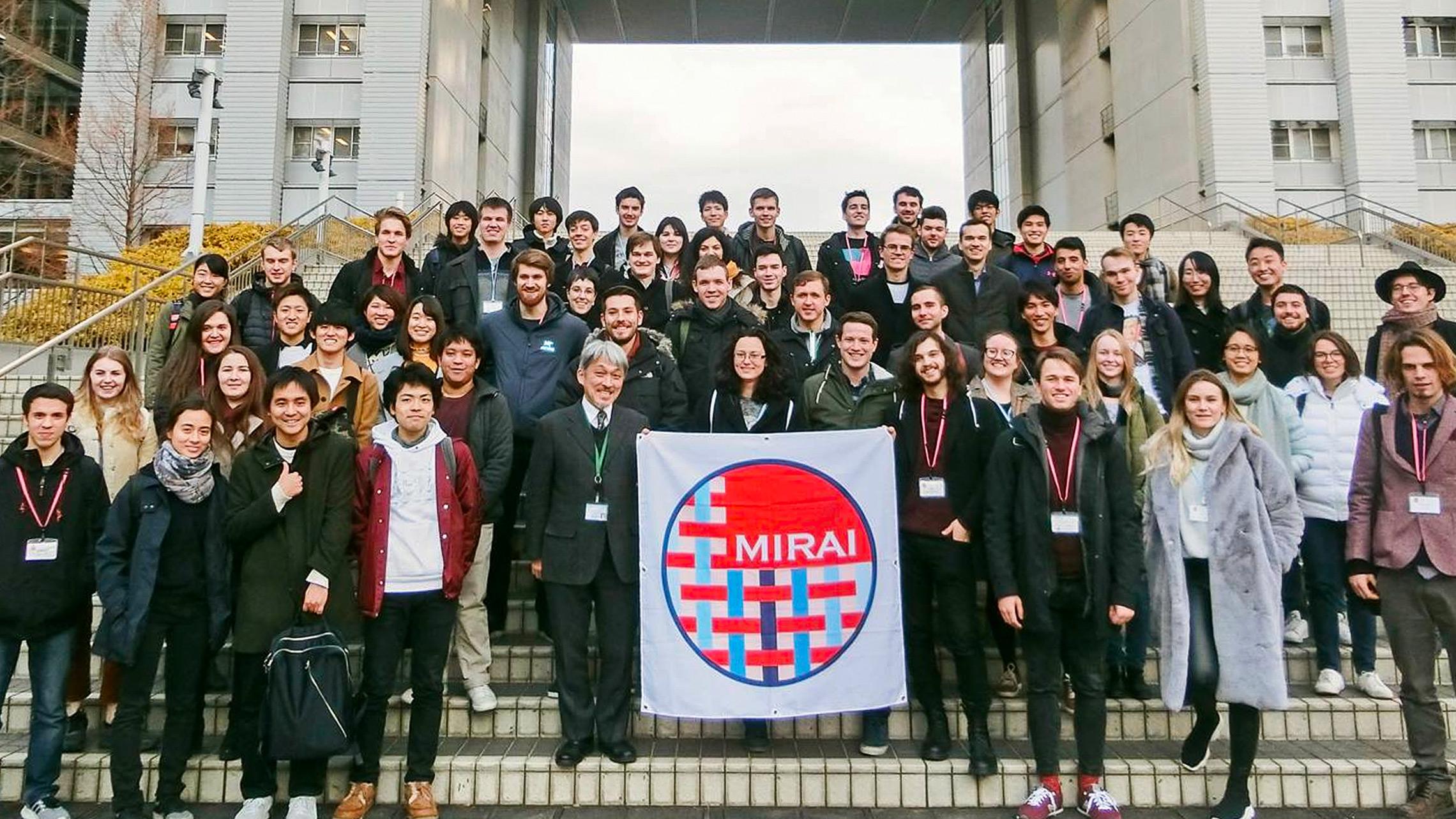 "Técnico student represents Portugal in ""MIRAI"" programme"