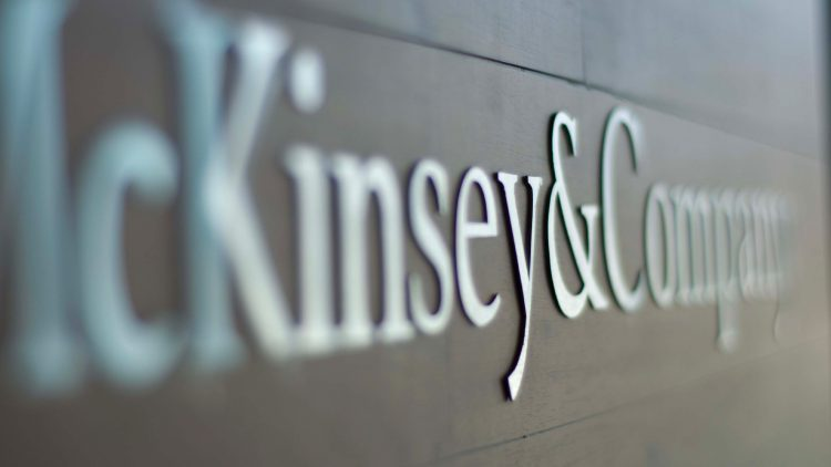 Sessões de apresentação da McKinsey & Company