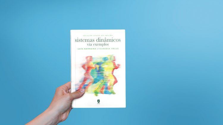 "IST Press published the book ""Sistemas Dinâmicos Via Exemplos"""